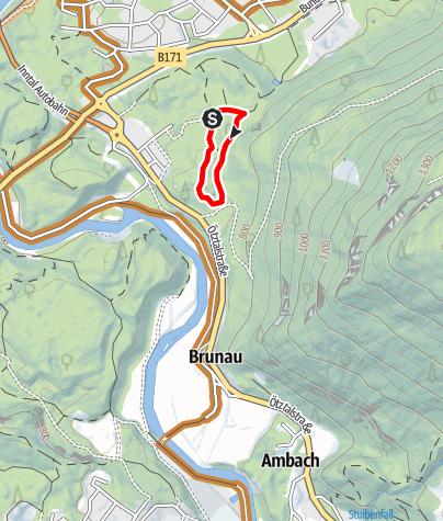 Karte / Trailcenter Ötztaler Höhe / Oachkatzl Trail