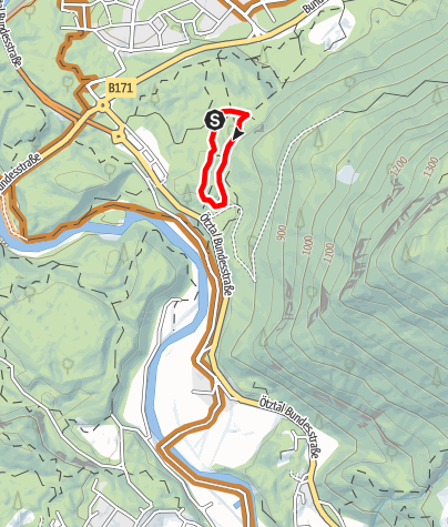 Map / Trailcenter Ötztaler Höhe / Oachkatzl Trail
