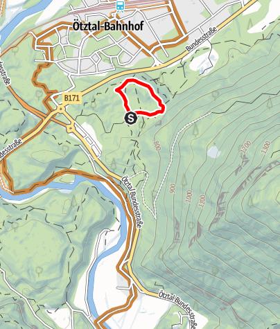 Karte / Trailcenter Ötztaler Höhe / WIDI Trail