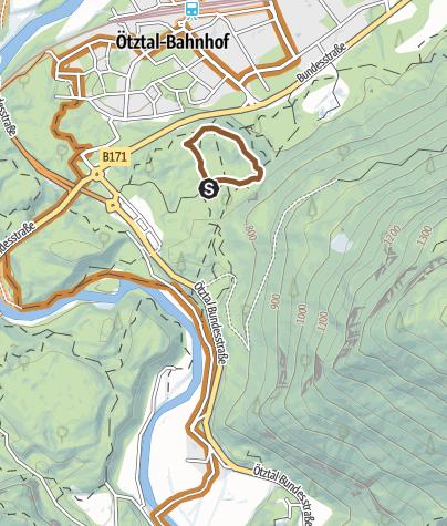 Mapa / Trailcenter Ötztaler Höhe / WIDI Trail