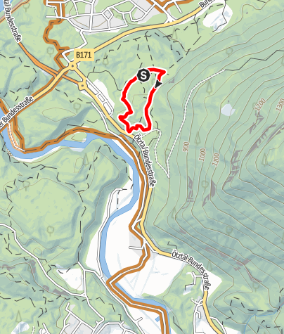 Map / Trailcenter Ötztaler Höhe / Wolfsrudel Trail