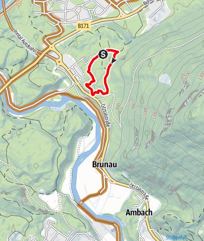 Karte / Trailcenter Ötztaler Höhe / Wolfsrudel Trail