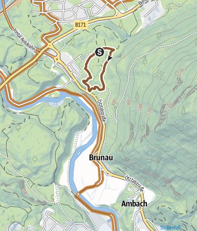 Mapa / Trailcenter Ötztaler Höhe / Wolfsrudel Trail