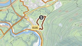 Kartta / Trailcenter Ötztaler Höhe / Wolfsrudel Trail