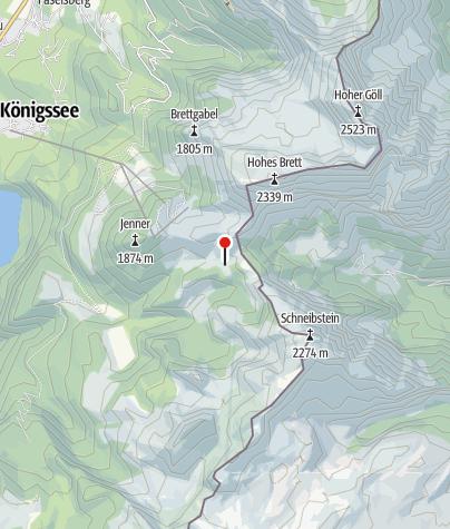 Karte / Schneibsteinhaus