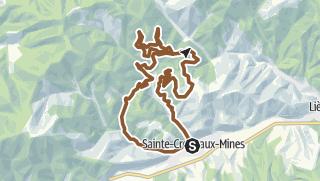 Map / Circuit VTT n°13 - Le Circuit des Chapelles