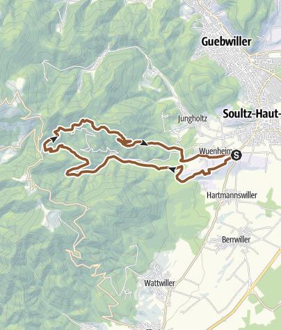 Carte / 14 - Circuit VTT du Kohlschlag