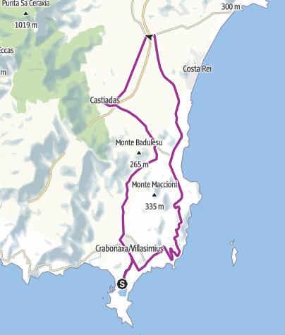 Map / Villasimius Castiadas