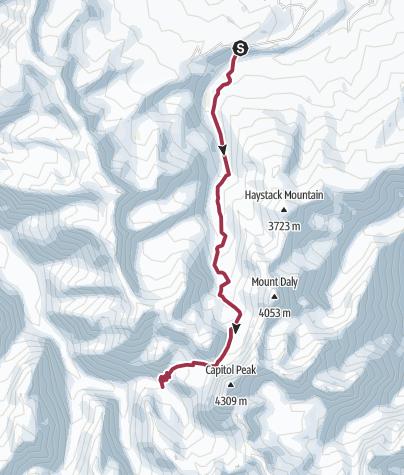 Map / CAPITOL CREEK TRAIL #1961