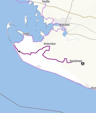 Map / Dannemare-Ydø
