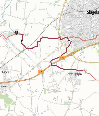 Map / Trelleborg-Slots Bjergby