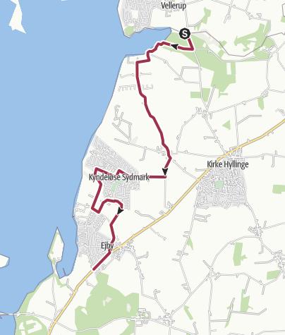 Map / Vellerup Vig-Ejby