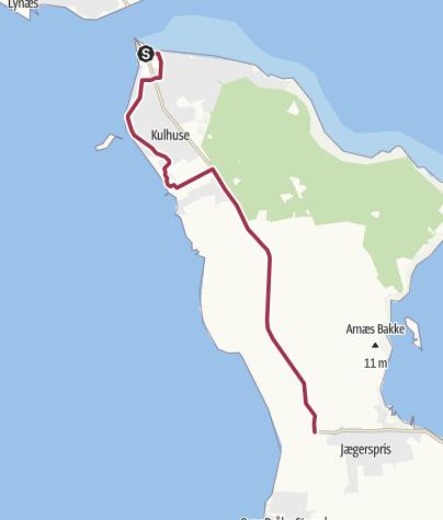Map / Kulhuse-Jægerspris