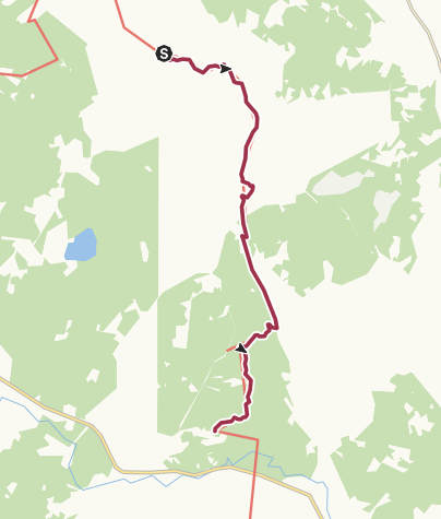 Map / SL 2 etapp 2:Olastorp-Vedema