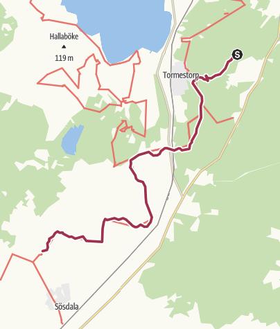 Map / SL 2 etapp 5: Rännarehusen - Lillsjödal