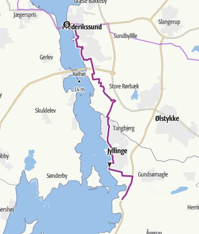 Map / Frederikssund-Salvad