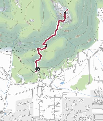 Map / Lumpy Ridge, Rocky Mountain National Park