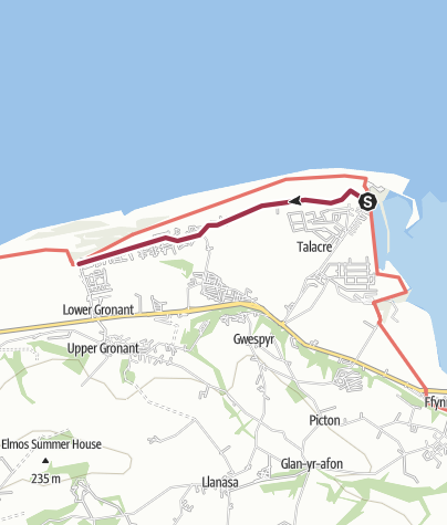 Map / Talacre Coastal Park, Gronant Dunes