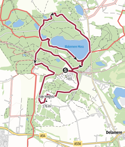 Map / Cheshire, Delamere Forest