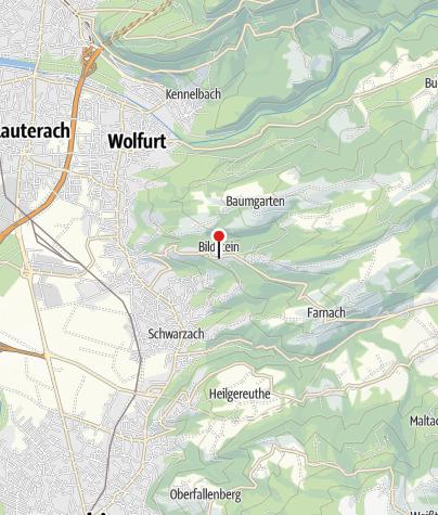 Karte / Bildstein, Wallfahrtskirche Unserer Lieben Frau Mariä Heimsuchung