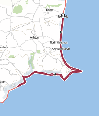 Map / Beesands20km