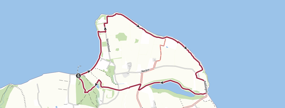 Mappa / Kvalitetssti Varnæs