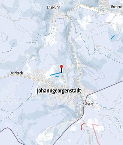 Karte / Johanngeorgenstadt