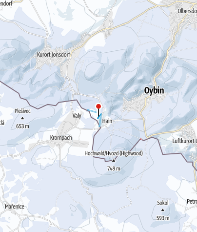 Karte / Oybin - Hain