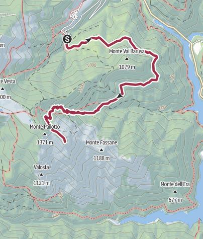 Map / Sentiero 72 CAI Salò