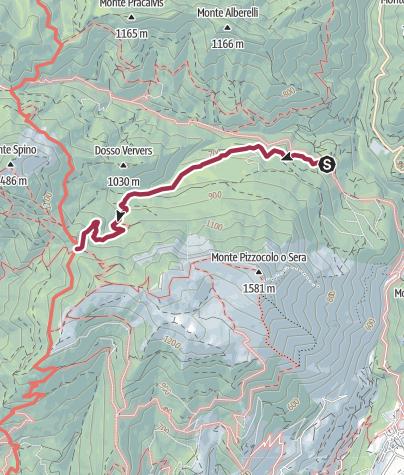 Map / Sentiero 202B Cai Salò - ex 2
