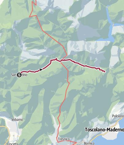 Map / Sentiero 279 CAI Salò - ex 7