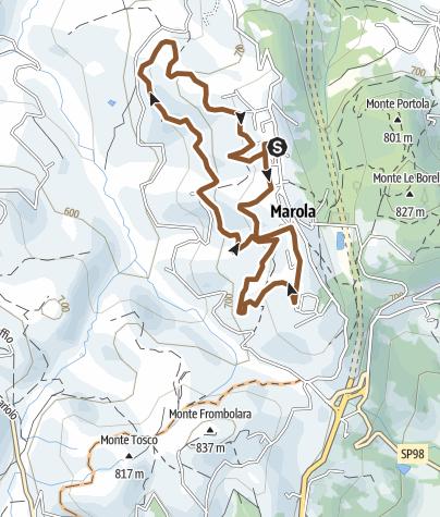 Map / Percorso Gara MTB