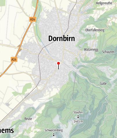 Karte / Dornbirn, Katholische Pfarrkirche zum Heiligen Leopold