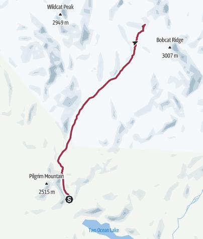 Map / Jackson, WY: Pilgrim Creek Trail