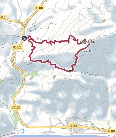 Map / Los Angeles: Gaviota Peak