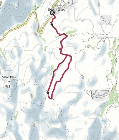Map / Los Angeles: Bear Canyon Loop