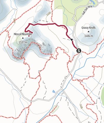 Map / Phoenix: Mescal Mountain