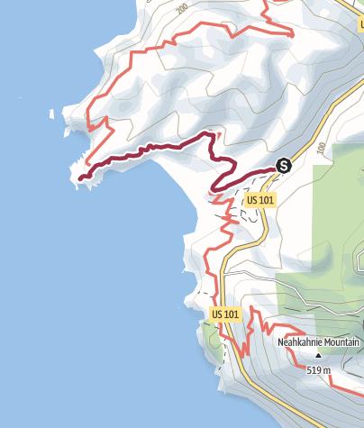 Map / Portland: Cape Falcon