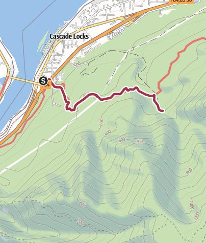 Map / Portland: Dry Creek Falls
