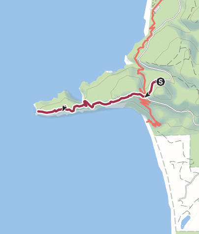 Map / Portland, OR: Cape Lookout Point