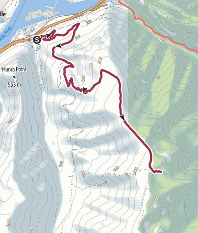 Map / Portland, OR: Dublin Lake via Tanner Butte Trail