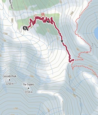 Map / North Cascades National Park: Cascade Pass