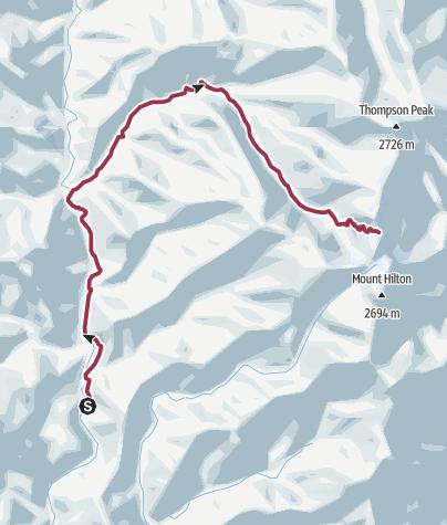 Map / Redding: Papoose Lake