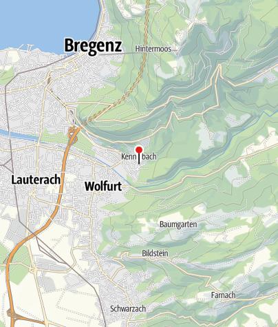 Karte / Kennelbach, Katholische Pfarrkirche Heiliger Josef