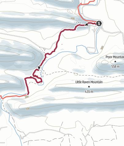 Map / Ouachita National Forest: Little Missouri Trail