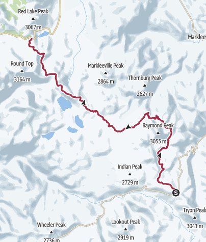 Map / Pacific Crest Trail: CA Section 23