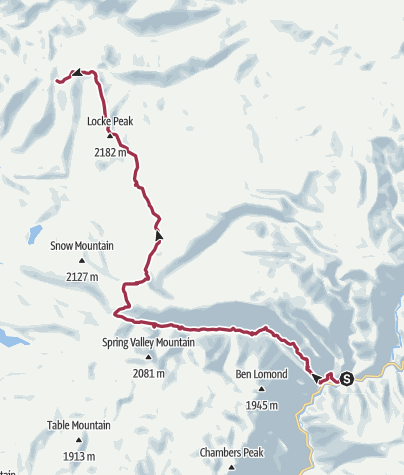 Map / Pacific Crest Trail: CA Section 30