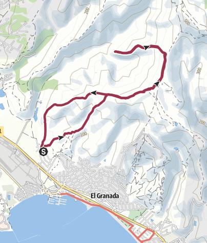 Map / San Francisco: Clipper Ridge Loop