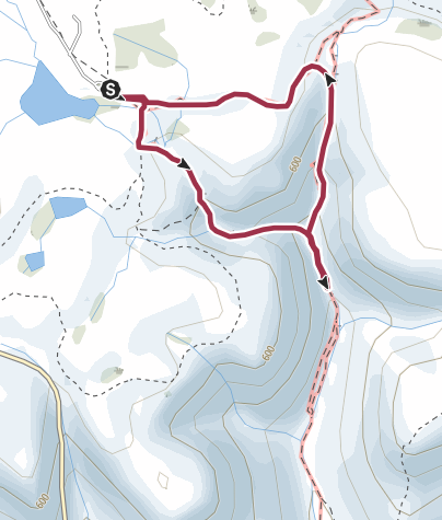 Map / Scranton, PA: Falls Trail Loop to Murray Reynolds Falls