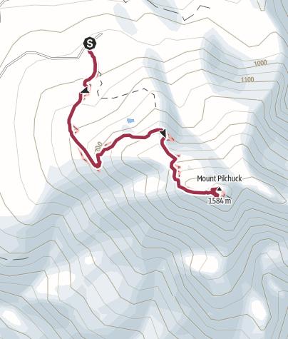 Map / Seattle: Mount Pilchuck
